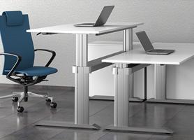 Zkuste práci ve stoje se stoly GO2basic