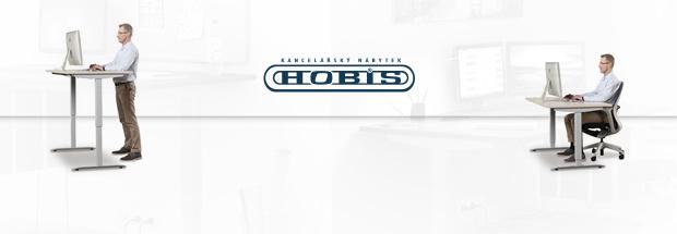 výškově stavitelné stoly Hobis MOTION
