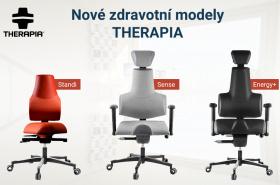 Nové unikátní modely zdravotních židlí THERAPIA