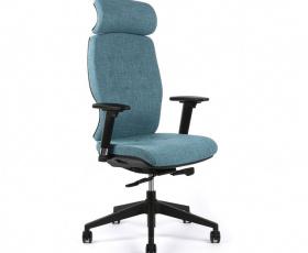Kancelářská čalouněná židle SELENE s podhlavníkem