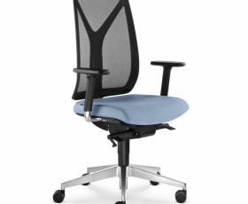 Kancelářská síťovaná židle LEAF 503-SYS