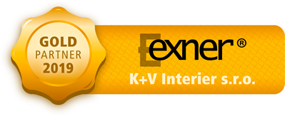 Gold partner Exner - K + V Interier s.r.o.