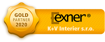 Gold partner Exner - K + V Interier s.r.o.